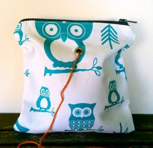 Top Shelf Totes Yarn Pop - Single - Turquoise Owl
