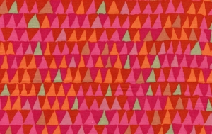 Brandon Mably Tents Fabric - Rose