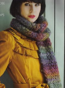 Debbie Bliss Riva Basketweave Wrap Kit - Scarf and Shawls