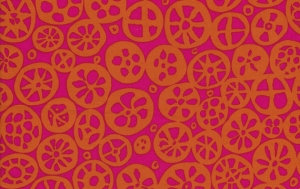 Brandon Mably Macaroni Fabric - Spice