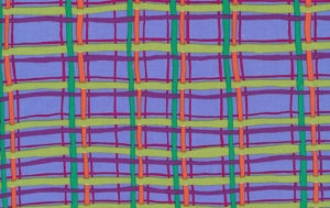 Brandon Mably Plaid Fabric - Blue
