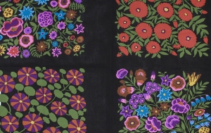 Kaffe Fassett Field Bouquet Panel Fabric