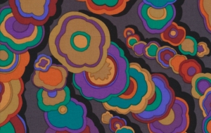 Kaffe Fassett Kite Tails Fabric - Black