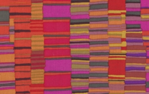 Kaffe Fassett Shirt Stripes Fabric - Red