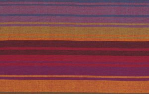 Kaffe Fassett Woven Stripe Fabric - Exotic Stripe - Purple