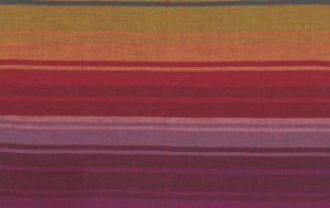Kaffe Fassett Woven Stripe Fabric - Exotic Stripe - Warm