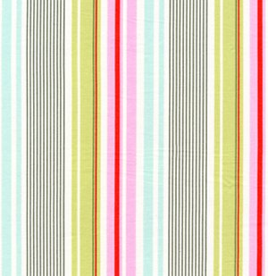 Heather Bailey Nicey Jane Fabric - Slim Dandy - Pink