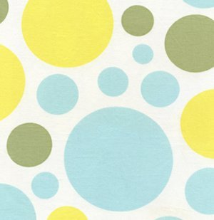 Heather Bailey Nicey Jane Fabric - Dream Dot - Splash