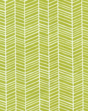 Joel Dewberry Modern Meadow Fabric - Herringbone - Grass