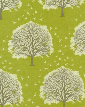 Joel Dewberry Modern Meadow Fabric - Majestic Oak - Grass