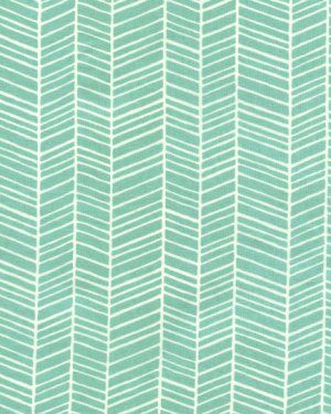 Joel Dewberry Modern Meadow Fabric - Herringbone - Pond