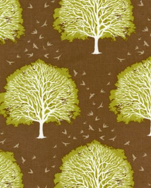 Joel Dewberry Modern Meadow Fabric - Majestic Oak - Timber