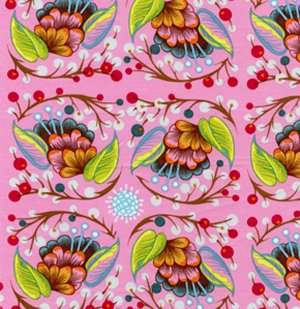 Anna Maria Horner Loulouthi Fabric - Curated Bloom - June