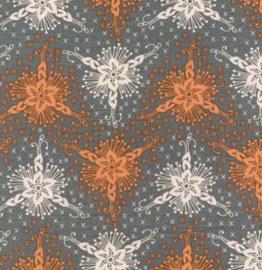 Anna Maria Horner Loulouthi Fabric - Triflora - Silver