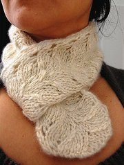 Getting Purly With It Patterns - Amanda Neckwarmer Pattern