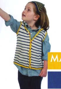 Shibui Sock Lexi Vest Kit - Baby and Kids Vests