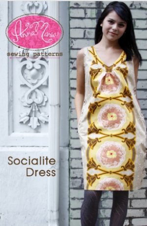 Anna Maria Horner Anna Maria Sewing Patterns - Socialite Dress Pattern
