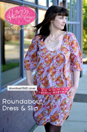 Anna Maria Horner Anna Maria Sewing Patterns - Roundabout Dress & Slip Pattern