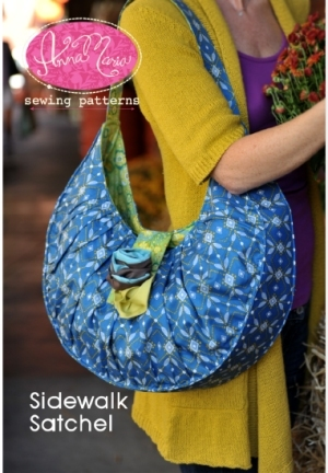 Anna Maria Horner Anna Maria Sewing Patterns - Sidewalk Satchel Pattern