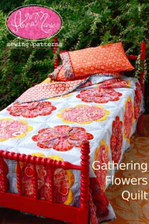 Anna Maria Horner Anna Maria Sewing Patterns - Gathering Flowers Quilt Pattern
