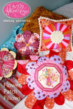 Anna Maria Horner Anna Maria Sewing Patterns - Flower Patch Pillows Pattern