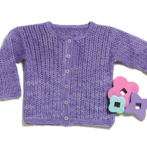Shibui Sock Infants Cardigan Kit - Baby and Kids Cardigans