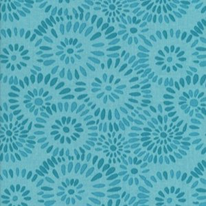 Valori Wells Jenaveve Linen Fabric - Pebbles - Teal