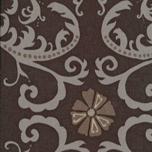 Valori Wells Jenaveve Linen Fabric - Tribal Floral - Toffee