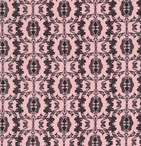 Mark Cesarik Calypso Swing Fabric - Swing Spirit - Black