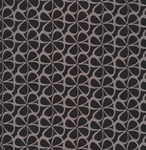 Mark Cesarik Calypso Swing Fabric - Rythmic Toss - Gray