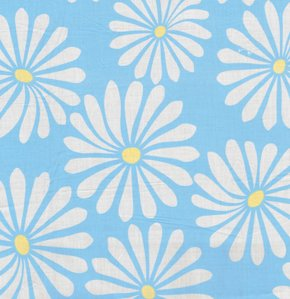 Annette Tatum Bohemian Fabric - Bloom - Aqua