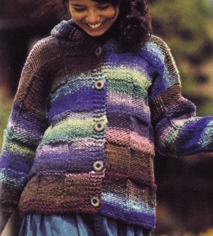 Noro Hitsuji Hooded Jacket Kit - Women's Cardigans