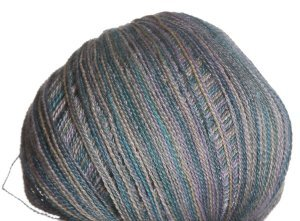 Classic Elite Silky Alpaca Lace Hand Paint Yarn - 2462 Turquoise Shadow (Discontinued)