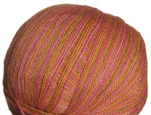 Classic Elite Silky Alpaca Lace Hand Paint Yarn - 2465 Tropical Fruit (Discontinued)