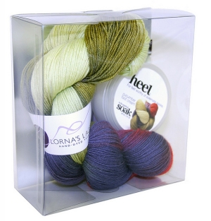 Lorna's Laces Solemate and Soak Holiday Set - Cucumber