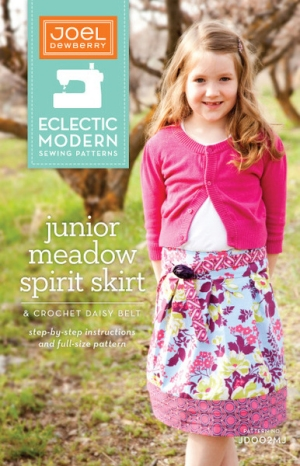Joel Dewberry Eclectic Modern Sewing Patterns - Junior Meadow Spirit Skirt Pattern