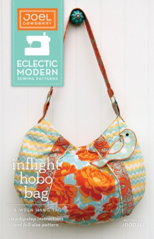 Joel Dewberry Eclectic Modern Sewing Patterns - Inflight Hobo Bag Pattern