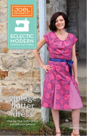 Joel Dewberry Eclectic Modern Sewing Patterns - Vintage Flutter Dress Pattern
