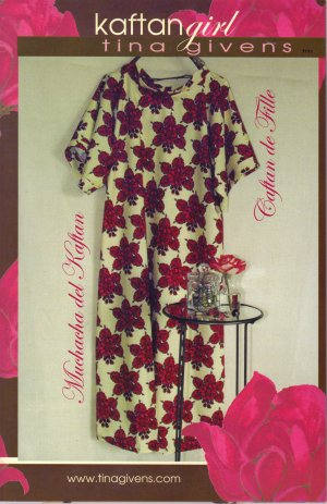 Tina Givens Sewing Patterns - Kaftan Girl Pattern