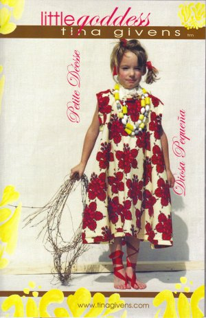 Tina Givens Sewing Patterns - Little Goddess Pattern