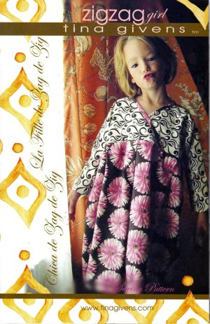 Tina Givens Sewing Patterns - Zigzag Girl Pattern