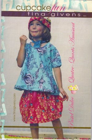 Tina Givens Sewing Patterns - Cupcake Fun Pattern