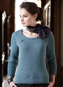 Rowan Wool Cotton Glenda Pullover Kit - Women's Pullovers