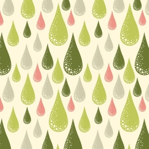Tula Pink Prince Charming Fabric - Dew Drop - Olive