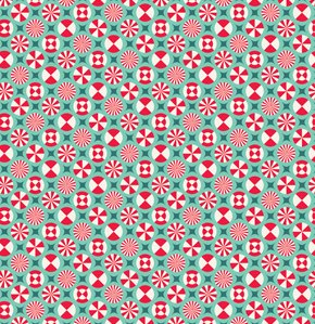 Tula Pink Prince Charming Fabric - Taffy - Aqua