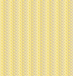 Tula Pink Prince Charming Fabric - Hex Box - Honey