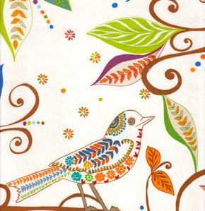 Valori Wells Wrenly Voile Fabric - Wren - Gypsy