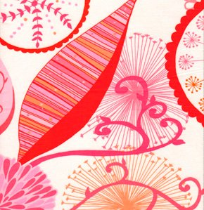 Valori Wells Wrenly Voile Fabric - Ingrid - Mandarin