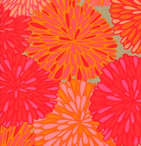 Valori Wells Wrenly Voile Fabric - Bloom - Mandarin