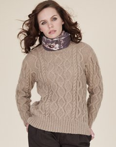 Rowan Kid Classic Sincere Pullover Kit - Women's Pullovers